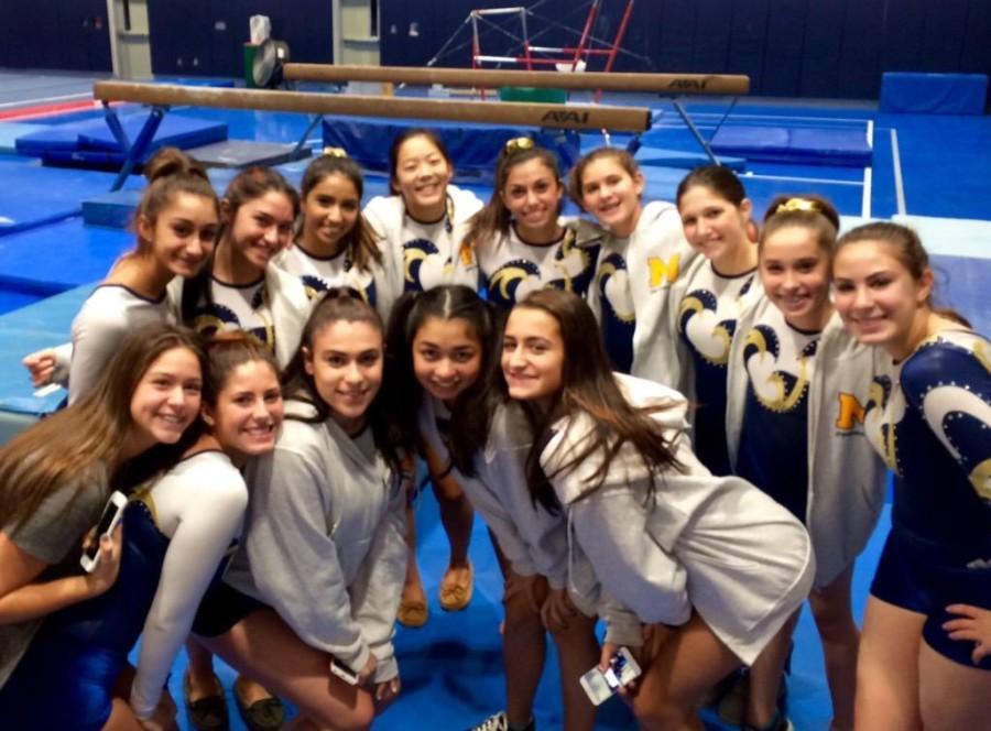 MHS Gymnastics Success