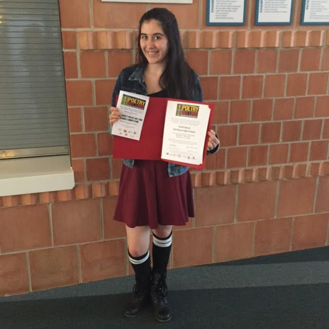 MHS Sophmore Sarah Baum Competes in Poetry Out Loud