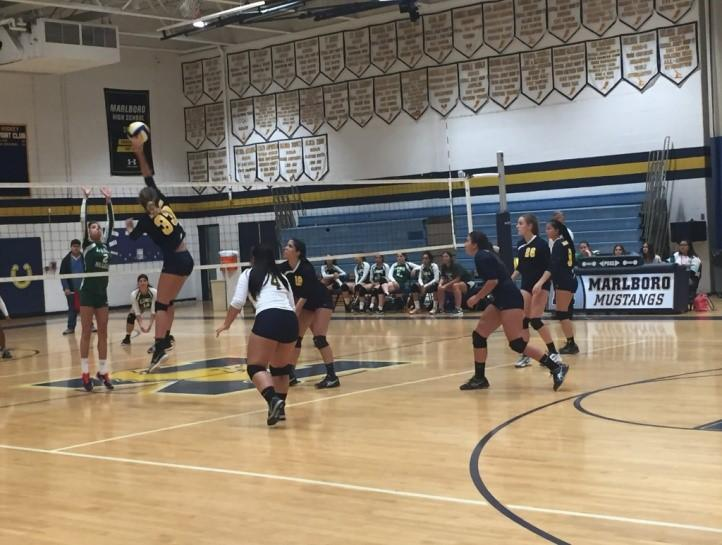The Girls Volleyball Team Serves Up An Outstanding Season