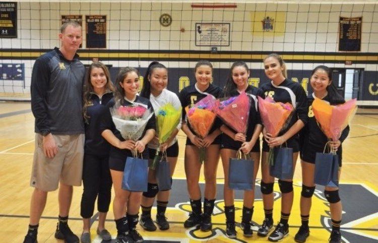 The Senior Girls Hit Their Final Spike: A Season Review