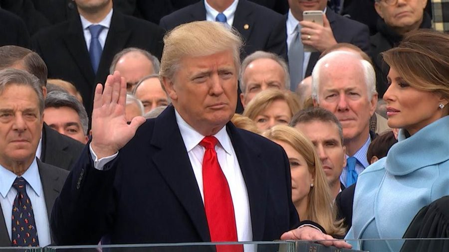 The 45th President of the United States
