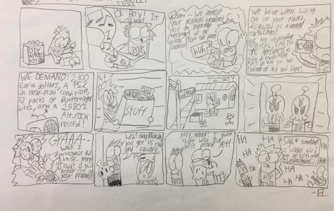 The Troublemakers Comic Strip