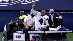 Cowboys Quarterback Prescott Injured