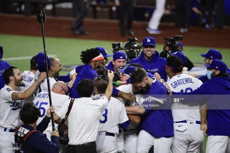 The LA Dodgers Win the 2020 World Series