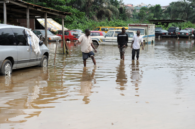 Coastal City of Lagos Battles with the Rising Sea Levels